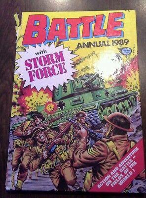 Battle Annual 1989