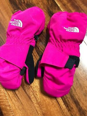 Toddler North Face Mittens - Size 3T