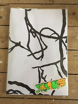 Rare Kaws X Sneeze Magazine Edition 29 Poster And Stickers