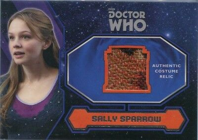 2015 Topps Doctor Who Sally Sparrow Costume Relic Card