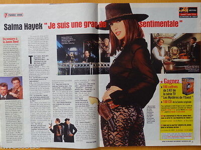 SALMA HAYEK Wild Wild West Coupure de presse 4 pages 1999 - French clippings