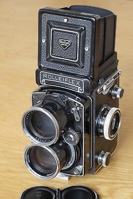 Rolleiflex Tele-Rollei w/ Sonnar 135mm f/4 lens, Rolleinar, good condition