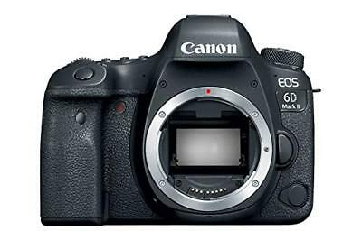 Canon DSLR Camera EOS 6D Mark II Body Only EOS6DMK2 EMS w/ Tracking NEW