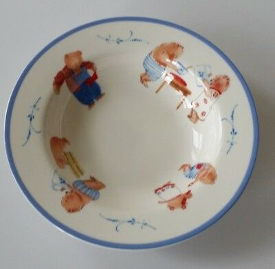 Villeroy & Boch Family Bears Child's Bowl 71/2 inches