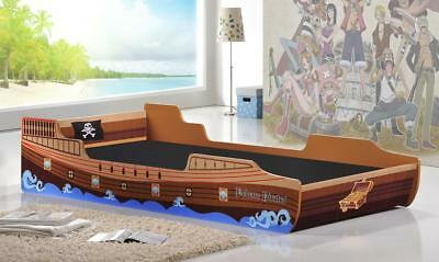 Caribbean Pirate Ship Bed 3ft Single Boys Bed in Caribbean Pirate water ship Bed