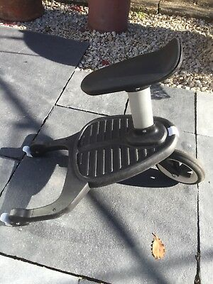 Bugaboo Comfort Wheeled Buggy Board with seat and buffalo adaptors