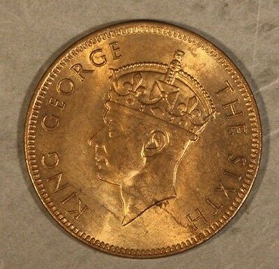 1948 Seychelles 2 Cents Nice Red Brown         ** FREE U.S SHIPPING **