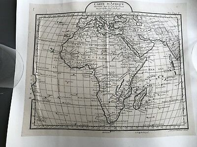 Map 1727 Carte D' Afrique Tom1 page1