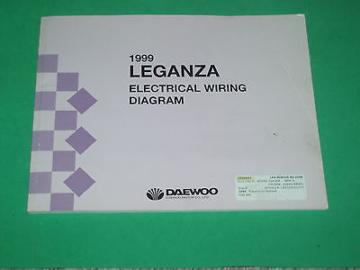 1999 daewoo leganza electrical wiring diagram used