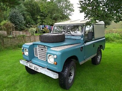 Land Rover. Series 3 SWB 88