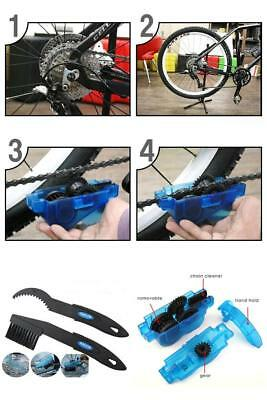 Cycling Bicycle Cleaning Tool Chain Wheel Wash Bike Cleaner Brushes Scrubber SET