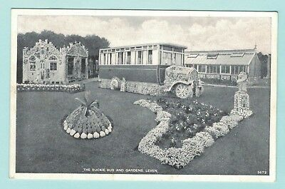 The Buckie Bus and Gardens Leven  Free P&P to UK (ref a96)
