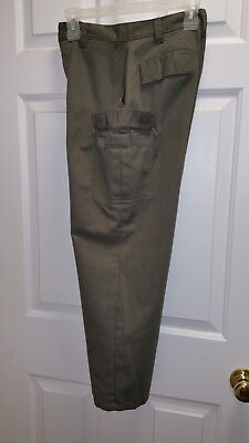 Olive Green Pants (Boy Scout) Size 14 - Extra pockets