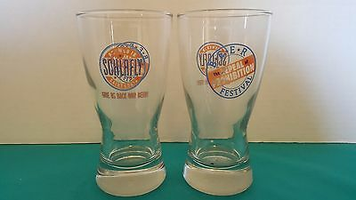 Schlafly Beer The Repeal of Prohibition Festival Set of 2 Mini Pint Glasses