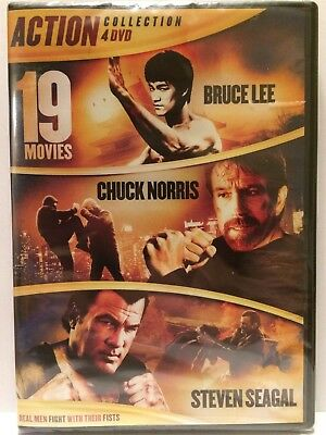 19 Movie Action Collection [New DVD] Boxed Set, Full Frame, Widescreen