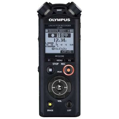 Japan  OLYMPUS Linear PCM Recorder LS-P4 New Free shipping with tracking