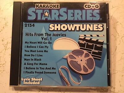 SOUND CHOICE KARAOKE CDG Hits From The Movies Volume 1 2154 Showtunes