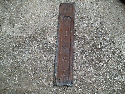 Antique Tin Ceiling rectangle #9 reclaimed metal wall art backsplash