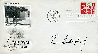 Norman Schwarzhopf Us General During The Gulf War Signed Fdc