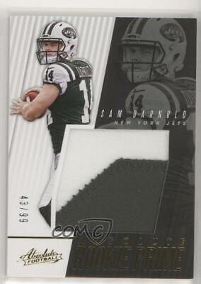 6f805d99 2018 PANINI ABSOLUTE Introductions IN-SD Sam Darnold New York Jets ...