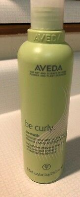 New Aveda Be Curly Co-Wash 8.5oz/250ml Shampoo/Conditioner in One