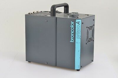 EXC++ BRONCOLOR PRIMO A BIVOLTAGE POWER PACK, TESTED, CLEAN, w/COVER