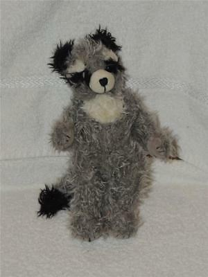 RACCOON Animals 1993 TY Plush Stuffed Jointed Animal Radcliffe Attic Treasures