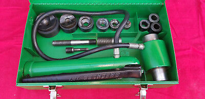 Greenlee 7306 Hydraulic Knockout Set