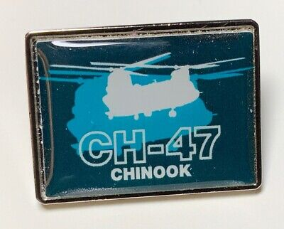 """Boeing Ch-47F """"chinook Helicopter""""  Lapel Pin"""