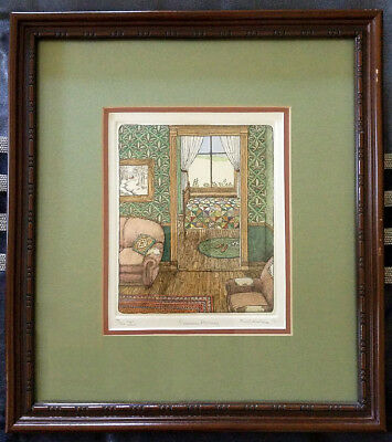 "Susan Hunt-Wulkowicz ""Summer Morning"" Cozy Etching*Hand Dated-Signed-# 44/300"