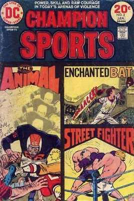 Champion Sports #2 in Fine minus condition. DC comics