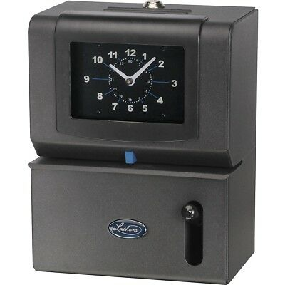 Lathem Time Company Manual Time Clock, Day of Week, Hours, Minute