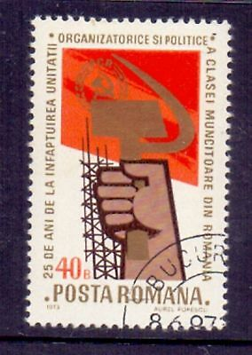 Romania  1973  25th Ann. Worker's Party, CTO.