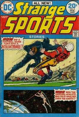 Strange Sports Stories (1973 series) #3 in Very Good + condition. DC comics