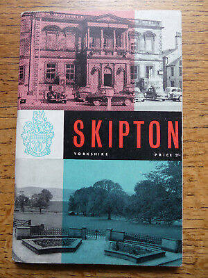 Skipton Urban District Official Guide 1960 Maps & Street Index