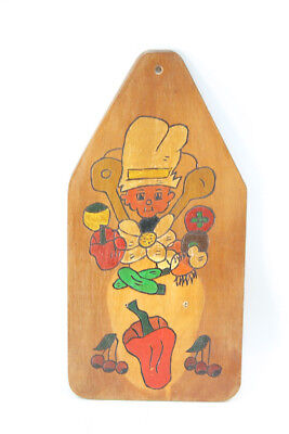 Nice Old Wooden Board Kitchen Board Board Old Vintage Decoration Wall Picture