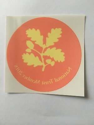 national trust member 2018 stickers