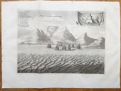 Dapper Large Original View South Africa Cape of Good Hope - 1686