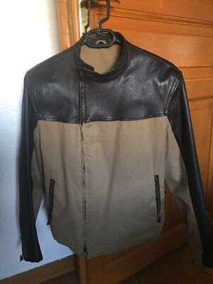 Italy In Dunhill Et Eur Cuir Motard Homme 99 Coton Made Veste 29 wq8xaA6n0p