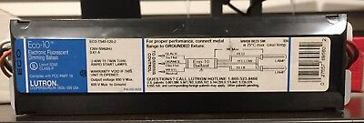 LUTRON ECO-10, ECO-T540-120-2 Electronic Fluorescent Dimming Ballast 120V