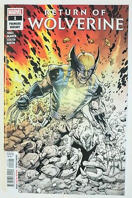 Return of Wolverine #1 2 per store Premiere Variant NM — Marvel Comics