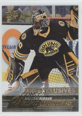 2015-16 Upper Deck Young Guns UD Exclusives /100 Malcolm Subban #211 Rookie