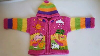 Original Peruvian Girl Jumper 1-2years