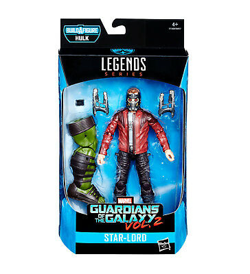 MARVEL LEGENDS Guardians of the Galaxy : Star-Lord Actionfigur + HULK Hasbro L *