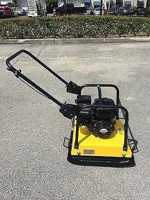 CORMAC, plate compactor C120 with 6.5Hp gasoline engine
