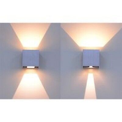wall led outdoor IP65 double light adjustable UP DOWN lamp wall 230V