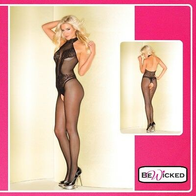 Sexy lingerie Bodystocking Fishnet Catsuit Lace Body Print Intimo Donna Tuta Hot