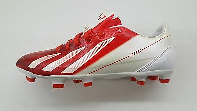 official photos 5d619 18e0f Adidas Messi F30 Trx Fg White Red Mens Size Outdoor Soccer Cleats G65387