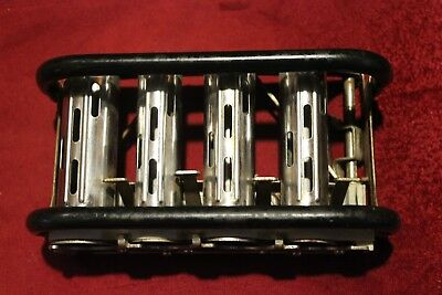 Vintage McGill High Speed COIN CHANGER 4 Slot Marengo ILL Belt Clips Bumpers