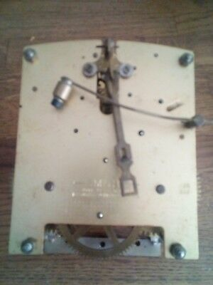 Vintage Smiths Mechanical Chime Clock Movement ( Not Working)